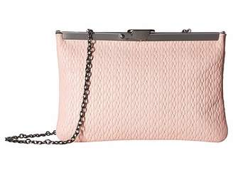 Patricia Nash Twisted Woven Embossed Asher Frame Clutch