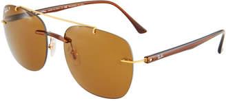 Ray-Ban Square Metal Sunglasses