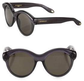 Givenchy 54MM Rounded Sunglasses