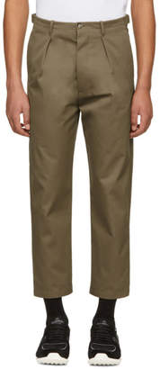 Valentino Beige Back Pleat Trousers