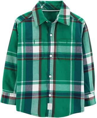 Carter's Baby Boy Plaid Button Down Shirt