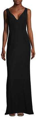 Emporio Armani Wing Evening Gown