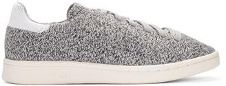 adidas Originals Grey Primeknit Stan Smith Sneakers $110 thestylecure.com
