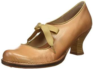 Neosens Women's S859 Restored Skin Rococo Closed-Toe Heeled Shoes, Beige (Wood)