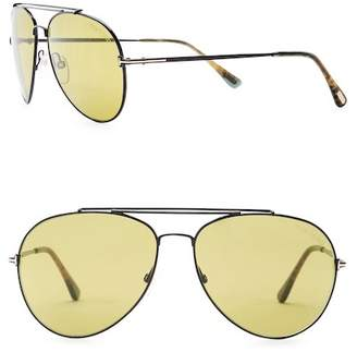 Tom Ford 58mm Aviator Sunglasses