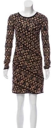 Missoni Knit Long Sleeve Dress