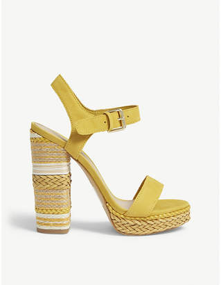 Aldo Huglag leather platform sandals