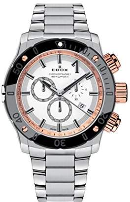 Edox Men's 'Chronoffshore-1' Swiss Quartz Stainless Steel Diving Watch