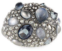 Alexis Bittar Stone Cluster Pave Cocktail Ring, Size 8