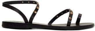 Ancient Greek Sandals Black Apli Eleftheria Nails Sandals