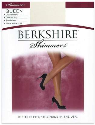 Berkshire Queen Size Shimmers Pantyhose - 4412