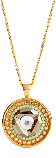 Jimmy Crystal New York Inifinity Pendant Necklace