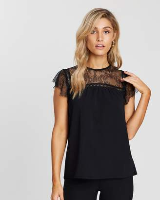 Atmos & Here ICONIC EXCLUSIVE - Natalie Lace Insert Top
