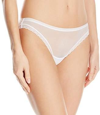 OnGossamer Women's Next to Nothing Mesh Low-Rise Bikini Panty