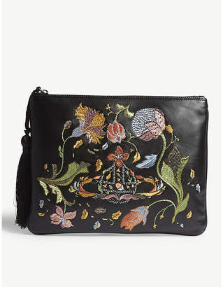 Vivienne Westwood Dolly leather clutch