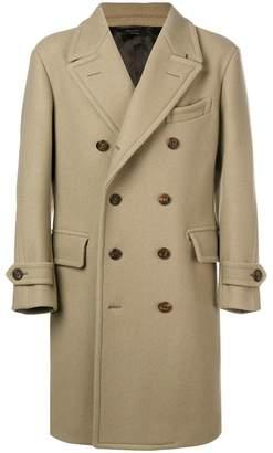 Tom Ford midi buttoned coat