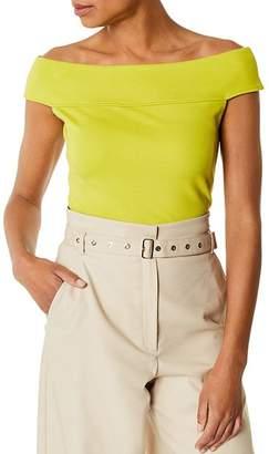Karen Millen Off-the-Shoulder Ponte Top