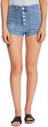Free People Bridgette Denim Shorts