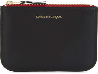 Comme des Garcons Tongue and teeth small leather pouch