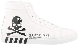 Philipp Plein High-top Skull Sneakers