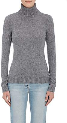 Barneys New York Women's Cashmere Turtleneck Sweater - Gray