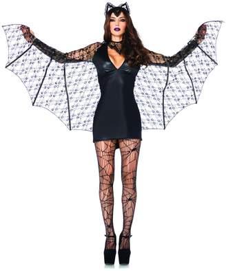 Leg Avenue Women's 3 Piece Moonlight Bat Costume