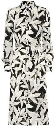 Equipment Rosalee printed midi shirt dress