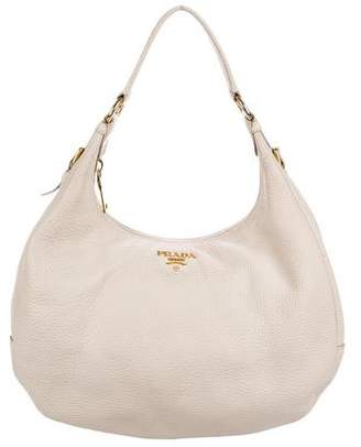 944a305e7868 Pre-Owned at TheRealReal · Prada Vitello Daino Zip Hobo