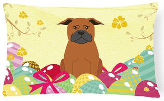 The Holiday Aisle Easter Eggs Chinese Chongqing Dog Lumbar Pillow The Holiday Aisle