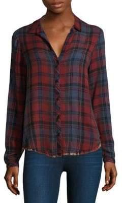 Bella Dahl Plaid Button-Front Shirt