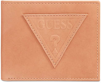 GUESS Men's Ponoma Leather Passcase