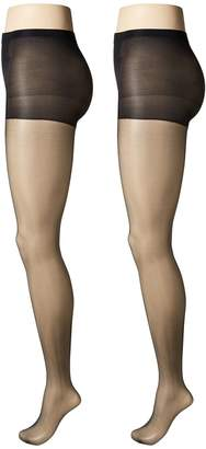 Calvin Klein Sheer Pantyhose with Control Top 2-Pair Pack Hose