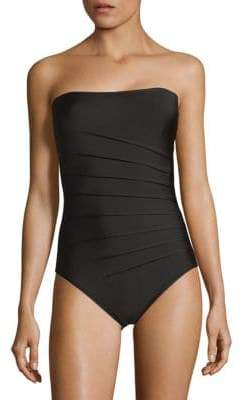 Calvin Klein One-Piece Strapless Swimsuit