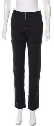 3.1 Phillip Lim Mid-Rise Zipper-Accented Pants