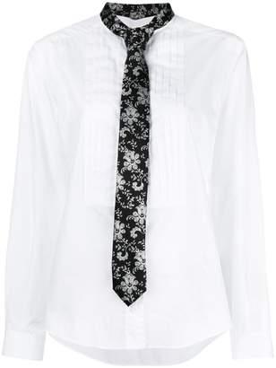 Dolce & Gabbana neck tie shirt