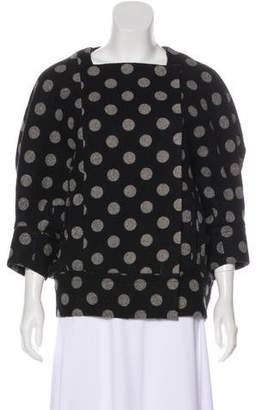 Diane von Furstenberg Clean Weston Wool Jacket