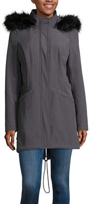 A.N.A Hooded Midweight Softshell Jacket