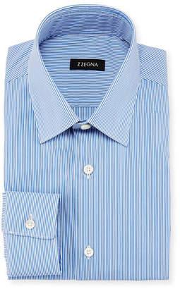 Z Zegna Striped Dress Shirt