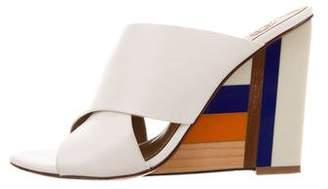 Tory Burch Slide Wedge Sandals