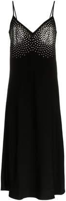 Ellery Honneur metal embellished midi dress