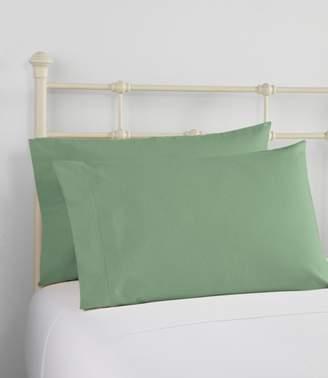 L.L. Bean L.L.Bean Ultrasoft Comfort Flannel Pillowcases, Set of Two
