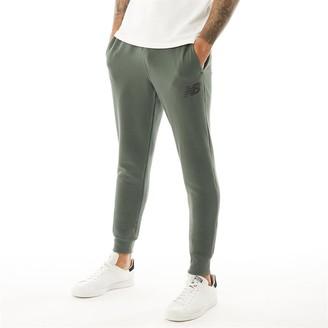 c2ddecb52 New Balance Mens Slim Fleece Pants Army Green