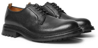 Officine Creative Exeter Pebble-Grain Leather Derby Shoes