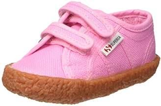 Superga 2750-Naked Covj, Unisex Kids' Low Trainers, Rosa (Pink Begonia), 7.5 UK ( EU)