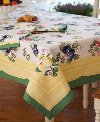 "Villeroy & Boch French Garden 68"" x 68"" Tablecloth"
