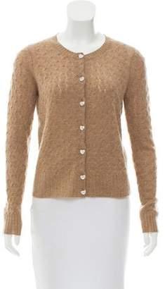 Marc Jacobs Cashmere Knit Cardigan