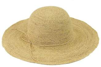 Condura Crochet Raffia Wide Brim Hat