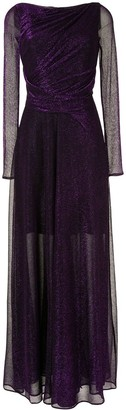 Talbot Runhof Ross draped gown