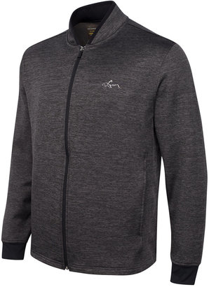 Greg Norman For Tasso Elba Hydrotech Zip Fleece Jacket, Only at Macy's $90 thestylecure.com