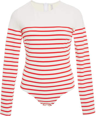 The Margot Long Sleeve One Piece Swimsuit